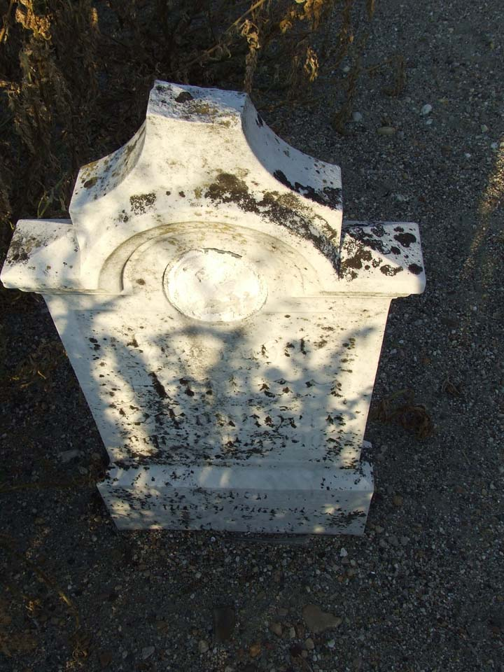 Headstone refurbished in 2009 needs to cleaned again.<br>Click to enlarge